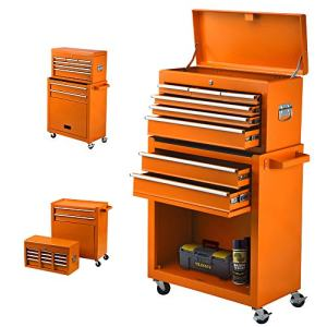High Capacity Rolling Tool Chest, Removable Tool Chest