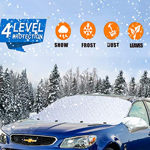 Windshield Snow Cover - Windshield Snow Ice Cover