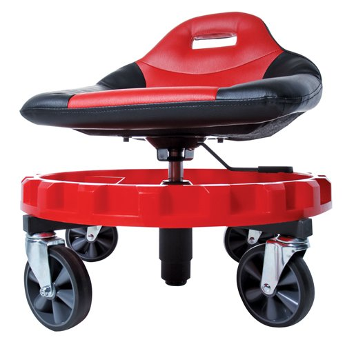 Traxion ProGear Mobile Rolling Gear Seat W/Equipment