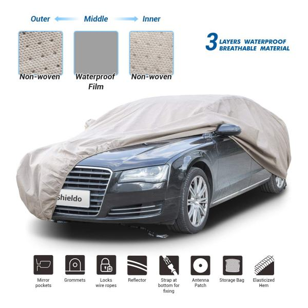 Shieldo Thick Shell Car Cover Waterproof