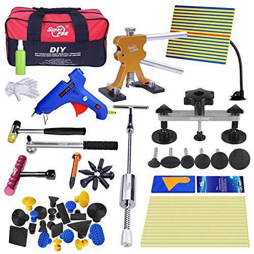 Super PDR 52pcs PDR Kits Auto Car Repair Removal Tools