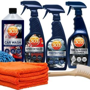Exterior Care Kit - Car Wash - Tire and Rubber Cleaner