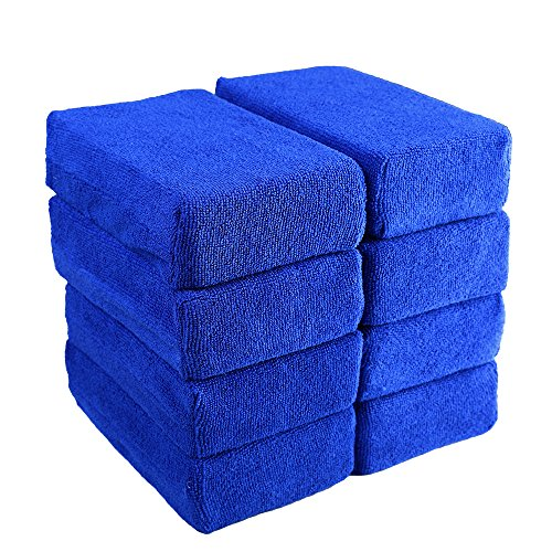 Car Wash Microfiber Sponges House Clean Sponge