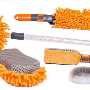 6 PCS Car Wash and Cleaning Kit Microfiber Cleaner