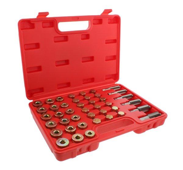 ABN Metric Oil Pan Drain Plug Thread Repair Rethreading 114-Piece