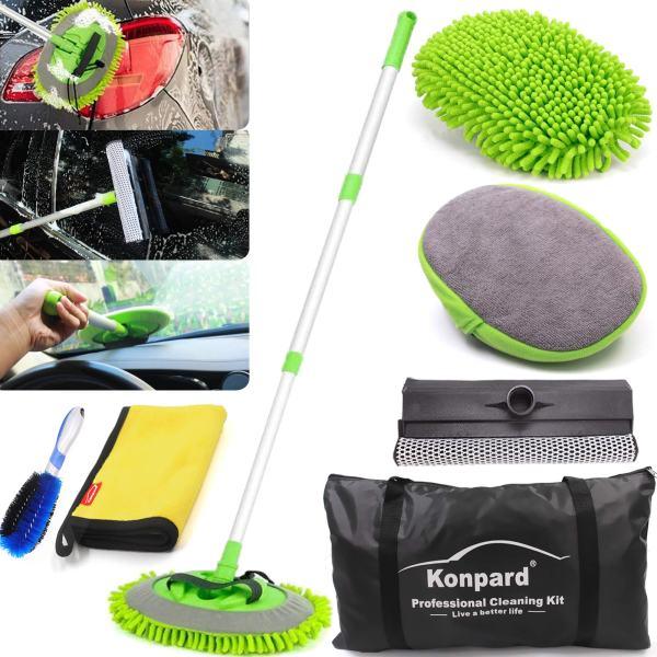 Konpard 7pcs Car Wash Brush Kits