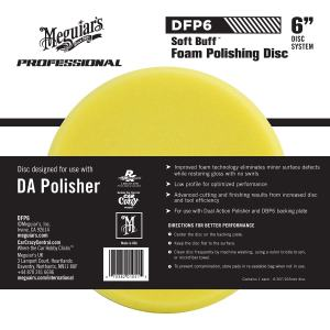 "Dual Action Polishing Pad Meguiar's 6"" DA Foam Polishing Disc"