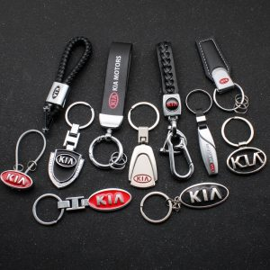 Car Styling Emblem Keychain Key Chain Rings