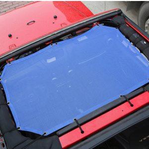 Jeep Wrangler JK Top Sun Shade Mesh
