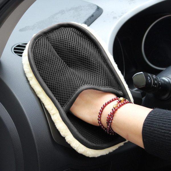 Car Washing Gloves Cleaning Brush