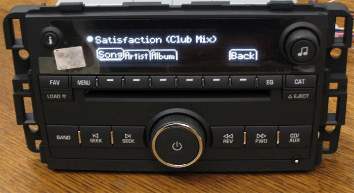 Ford Oem Stereo