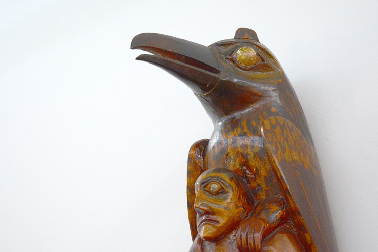 Northwest Coast Totem by Andrew Brown » Oeno Gallery
