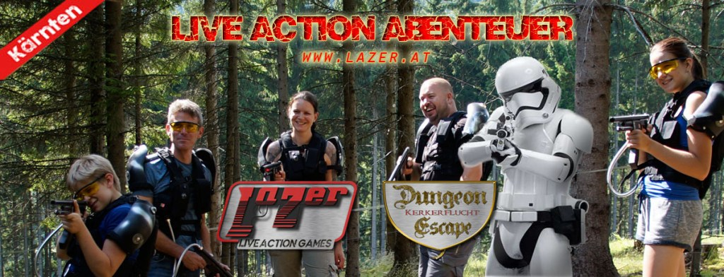 Vorschau News Lazer Live Action Games