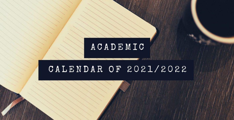 PROPOSED ACADEMIC CALENDAR OF 2021-2022