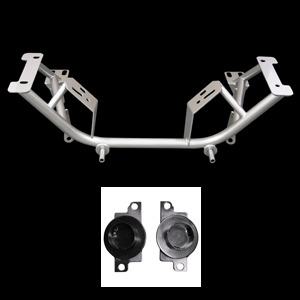 96-04 Mustang UPR Tubular Chrome Moly K Member w/ Spring Perches