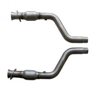 05-12 Dodge BBK Hemi - Short Mid Pipe w/Converters 304 Stainless