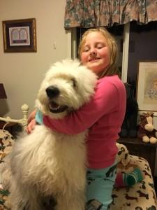 Hazel May loves her sweet friend!