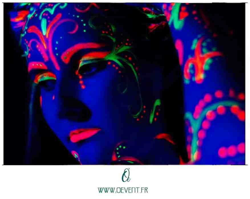makeup fluo oevent 4