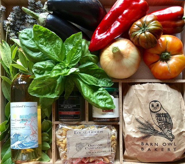 Fresh local produce for your dining experience...