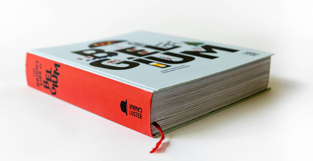 Book design and illustrations 'The Bright side of Belgium'