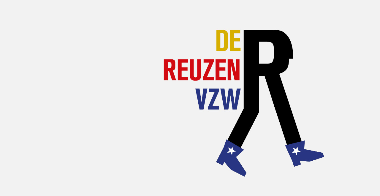 Campaign design for the annual 'Reuzenstoet' in Borgerhout, Antwerp.