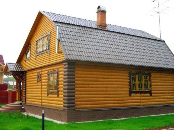 Отделка дома блок хаусом снаружи - фото и инструкции