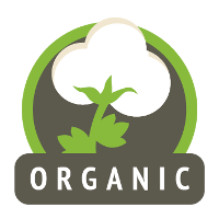 Tela de algodón orgánico