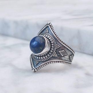 Ring Gajner lapis lazuli