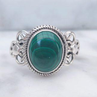 ring malachiet