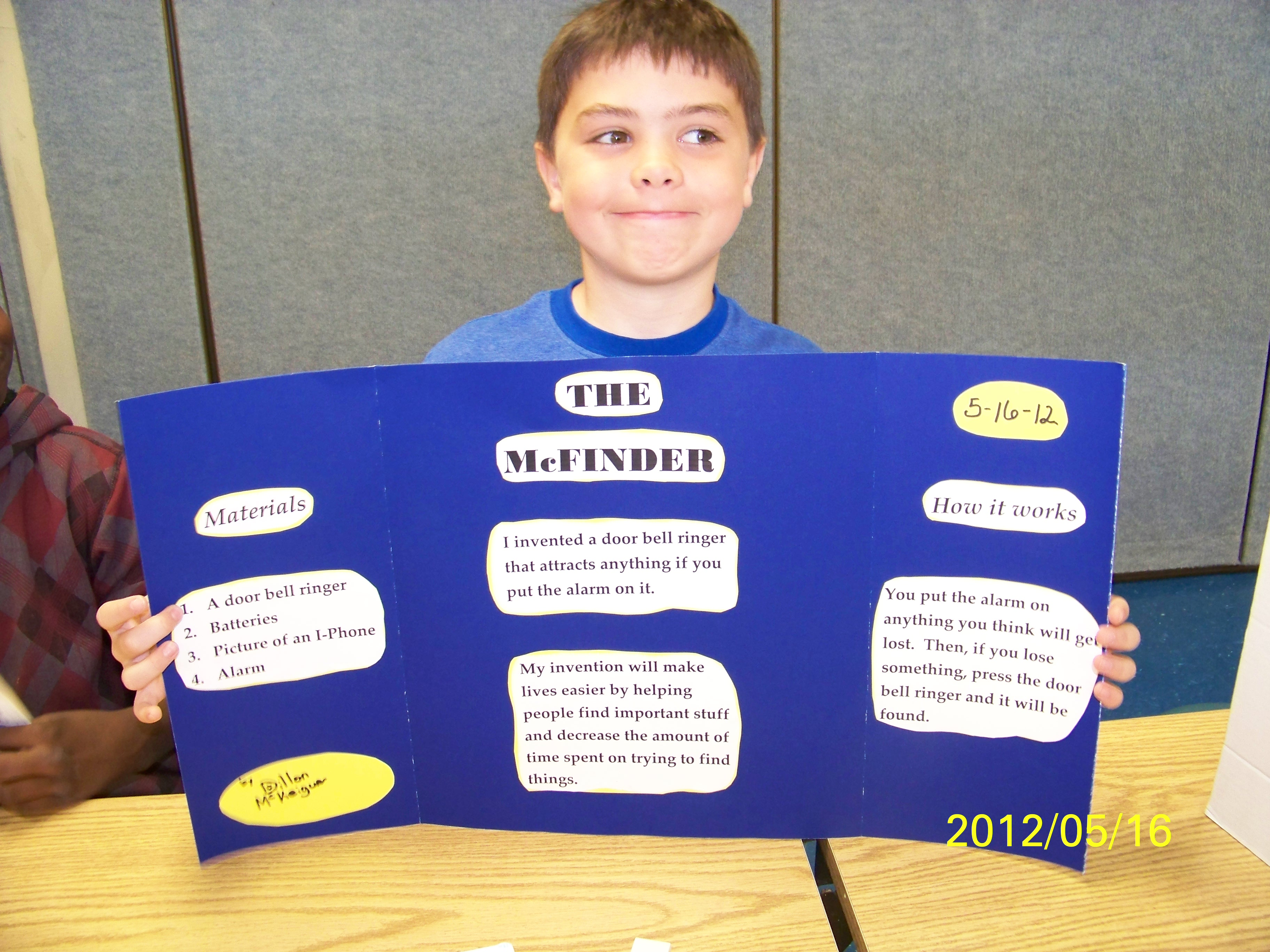 Invention Ideas For 3rd Graders