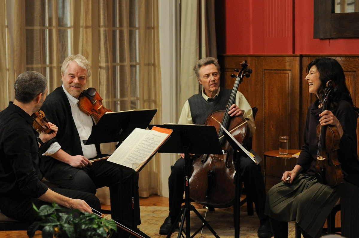 A Late Quartet shows what happens when four lives fall in and out of harmony