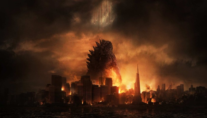 Godzilla (2014) is like a storm on the horizon