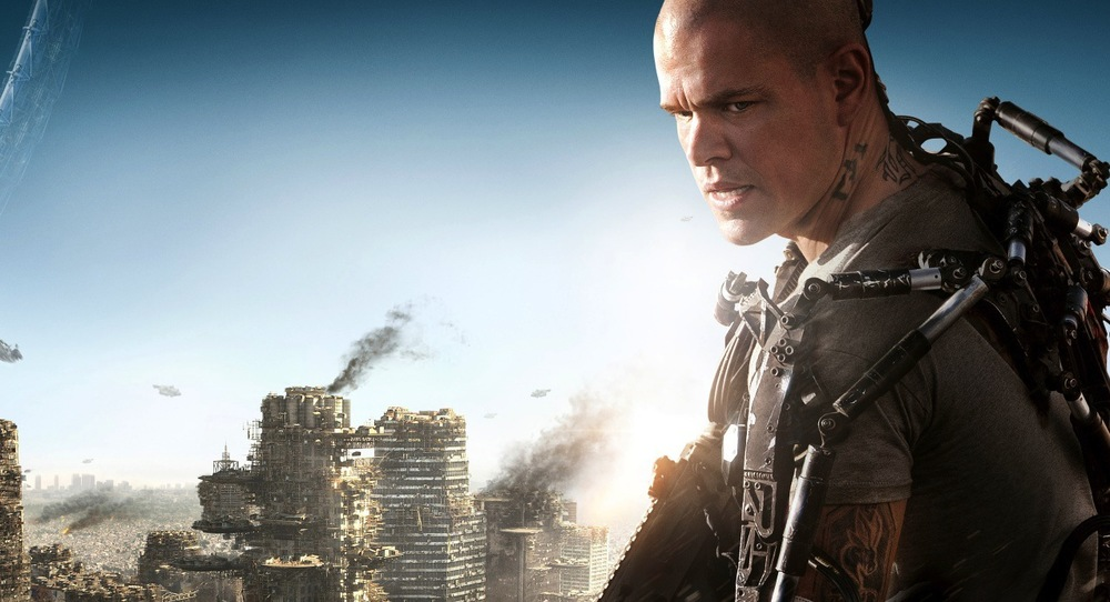 Elysium is a gritty, high-in-the-sky moral fable