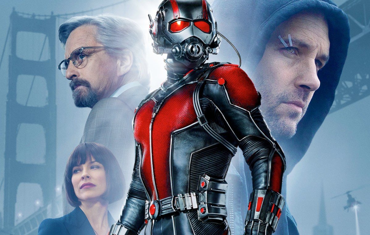 Ant-Man is disposable, throwaway fun, but it might make you think twice next time you step on a bug