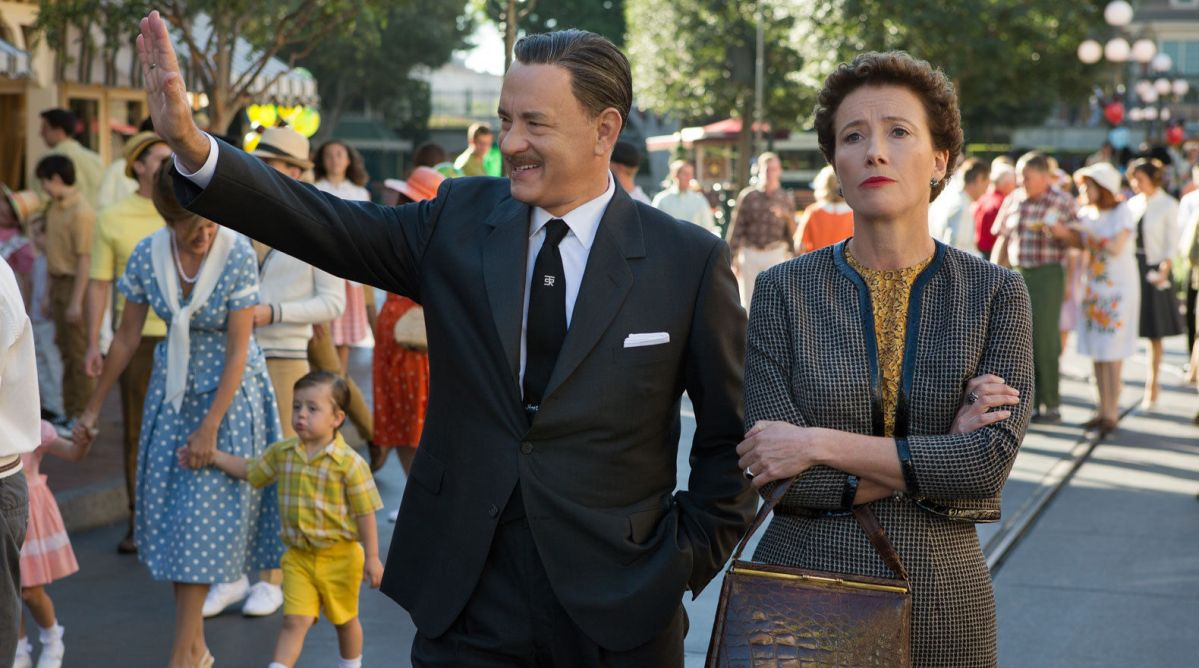 Saving Mr. Banks is self-serving nostalgia from the House of Mouse… It's also great, hugely feelgood fun