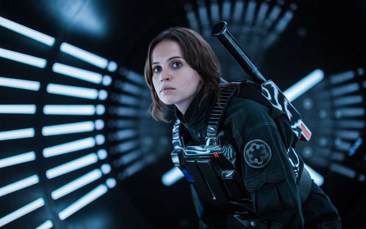 Rogue One: helpfully titled man on mission movie; also Star Wars