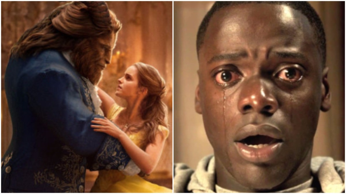 CINEMATIC GRAB-BAG: Beauty And The Beast (2017) & Get Out