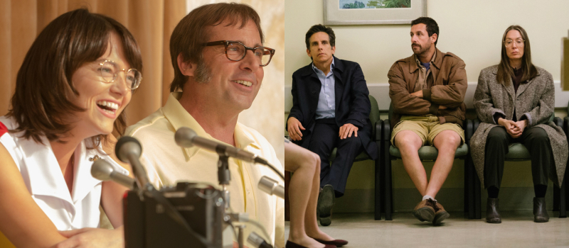 REVIEW: Battle of the Sexes & The Meyerowitz Stories (LFF Days 2-3)