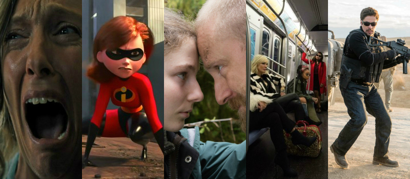 PODCAST: Incredibles 2, Hereditary, Sicario: Soldado, Oceans 8, & Leave No Trace [Electric Shadows]