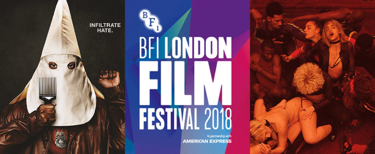 PODCAST: BFI London Film Festival 2018 preview, BlacKkKlansman, & FrightFest 2018 roundup [Electric Shadows]