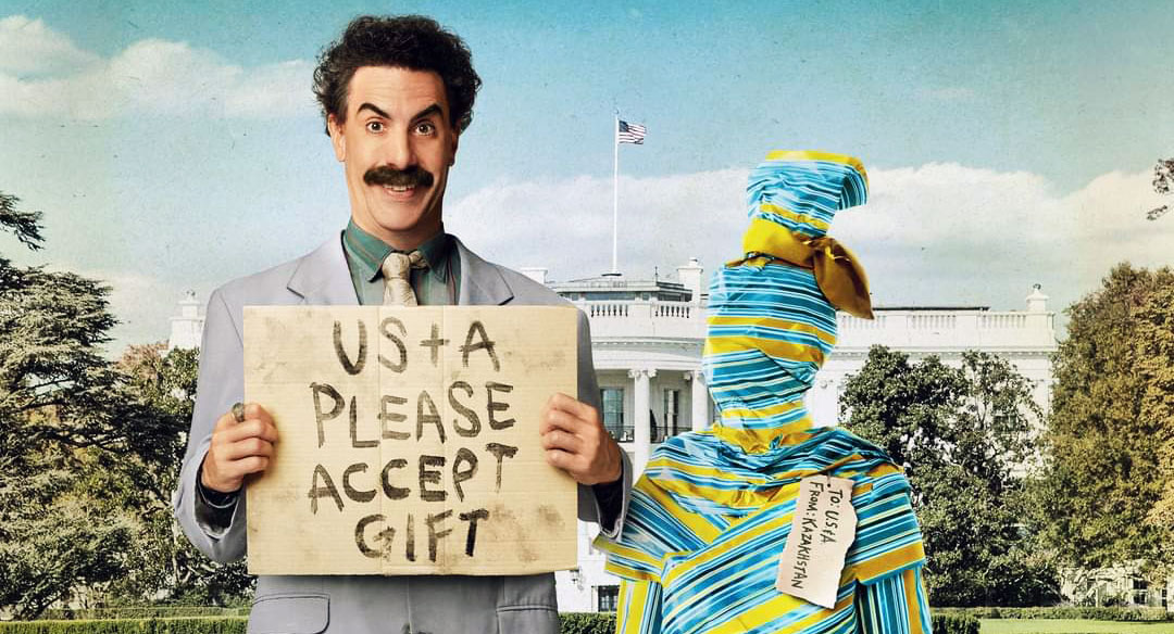 PODCAST: Borat Subsequent Moviefilm (& Trial of the Chicago 7 & On The Rocks) [Movie RobCast]