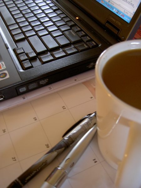 Laptop and Coffee by jdurham at Morguefile.com