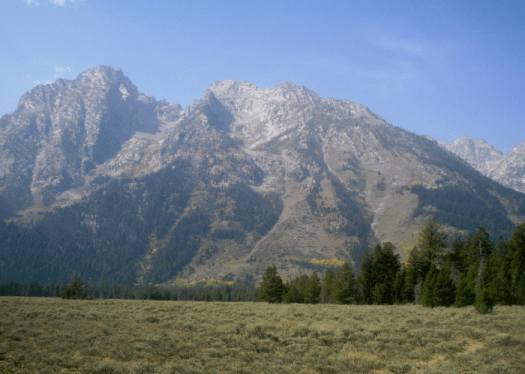 Cathedral Mountains in the Grand Tetons