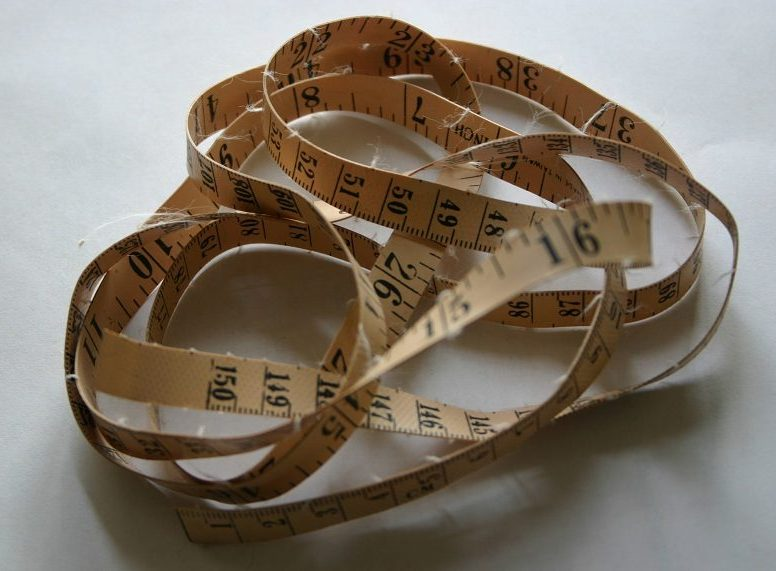 Coiled measuring tape by xandert at Morguefile.com