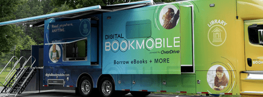 Photo from Overdrive's Digital Bookmobile site of the 42 custom truck