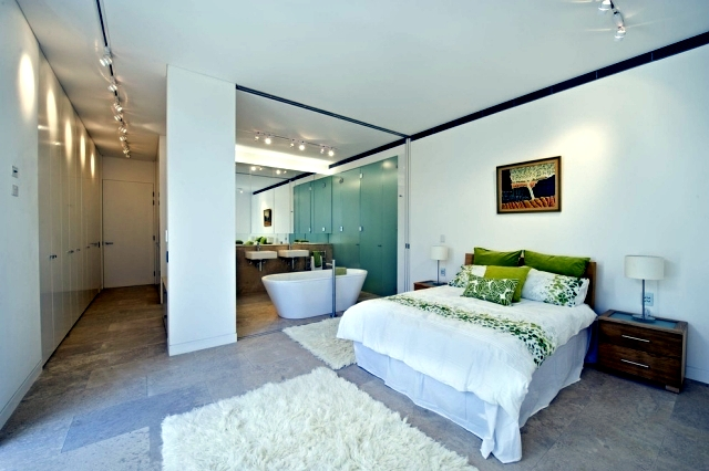 Freestanding Bathtub In The Bedroom