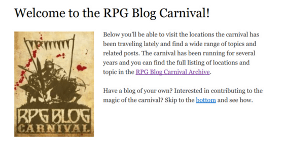 The RPG Blog Carnival has a new box office!