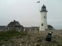 The lighthouse keeper lives onsite.