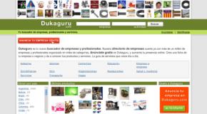Dukaguru: Buscador de empresas, profesionales y servicios