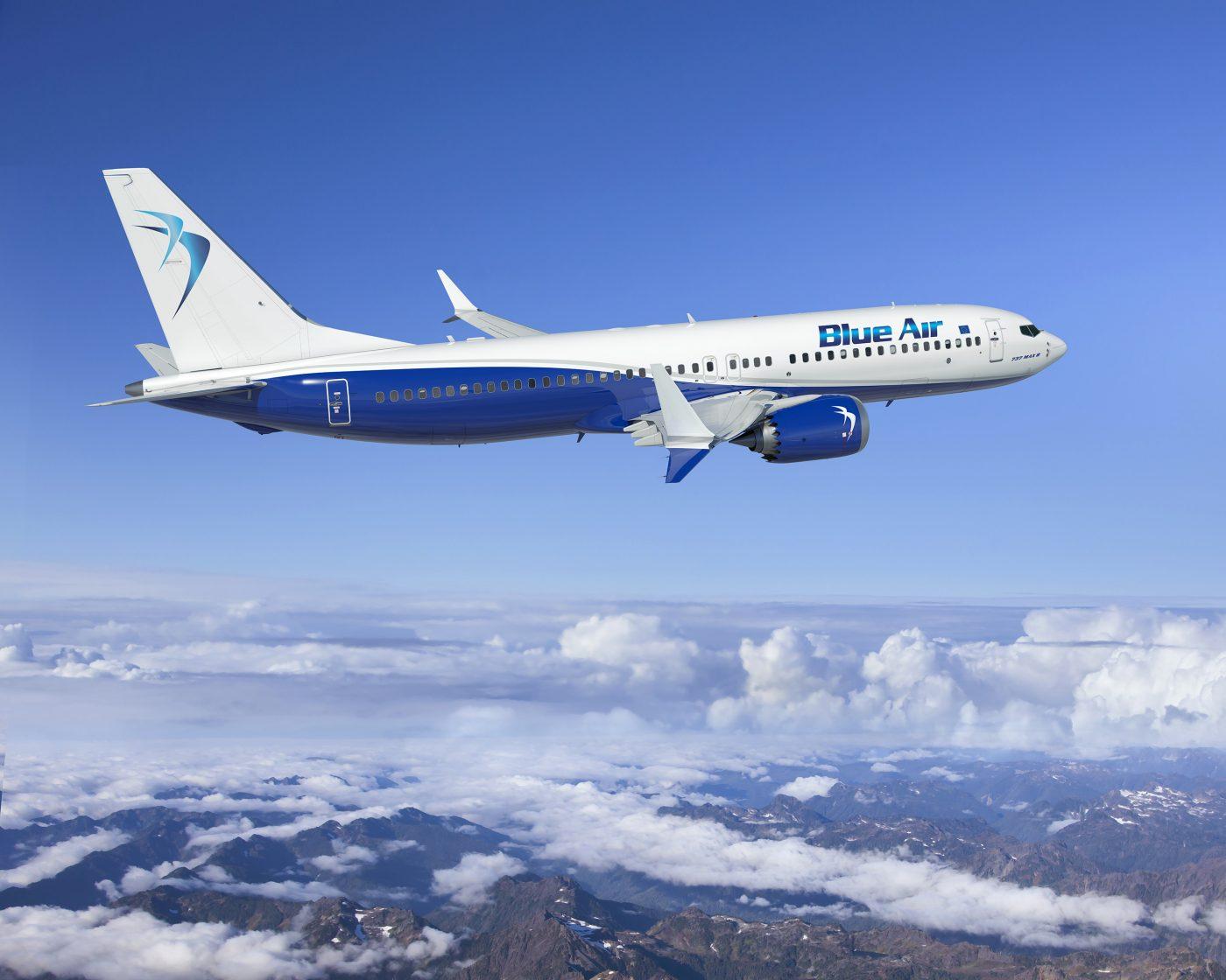 Zboruri Blue Air, martie – aprilie, de la 9,99 EUR/sens